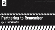 Partnering to Remember: The 2011 Philippians Memory Moleskine